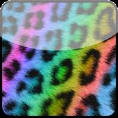 Go Locker Rainbow Cheetah