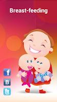 Screenshot of Breastfeeding Tracker
