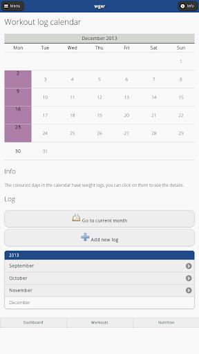 【免費健康App】wger Workout Manager-APP點子