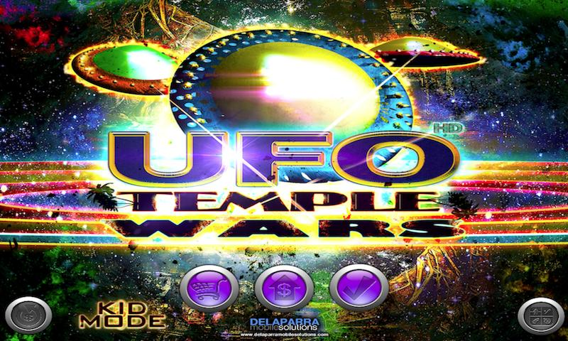UFO Temple Wars Free Racing- screenshot