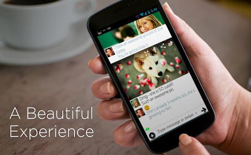 invi Messenger和短信