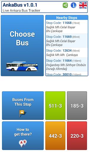 AnkaBus: Ankara Bus Tracker