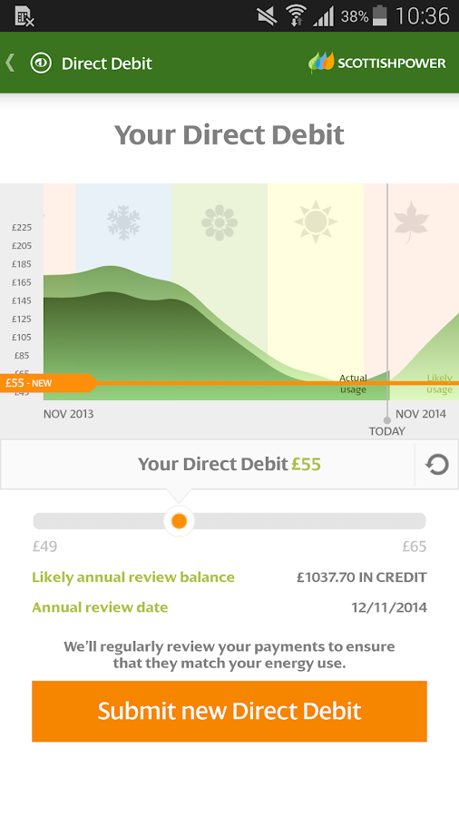 ScottishPower - Your Energy - screenshot