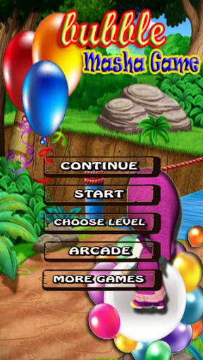 Bubble Masha Game