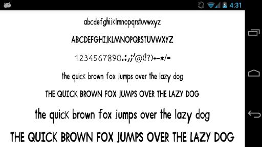 Fonts for FlipFont 50 Pencil