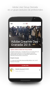 Adobe User Group Granada- screenshot thumbnail