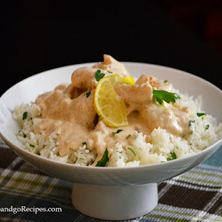 Fish Fillet with Creamy White Sauce