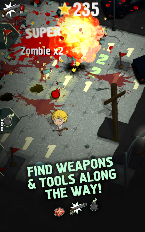 Zombie Minesweeper - screenshot