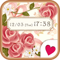 Cute wallpaper★Vintage rose icon