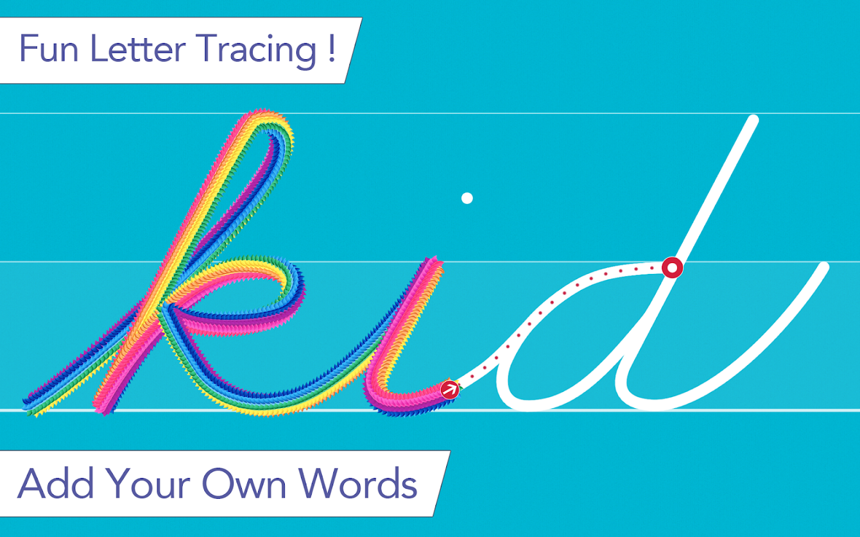 cursive handwriting animation educational software download