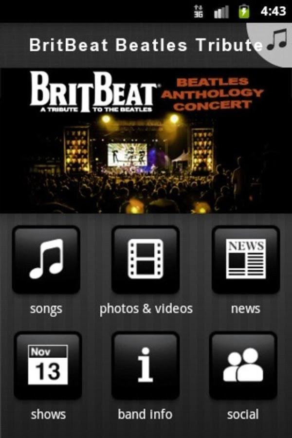 BritBeat Beatles Tribute - screenshot