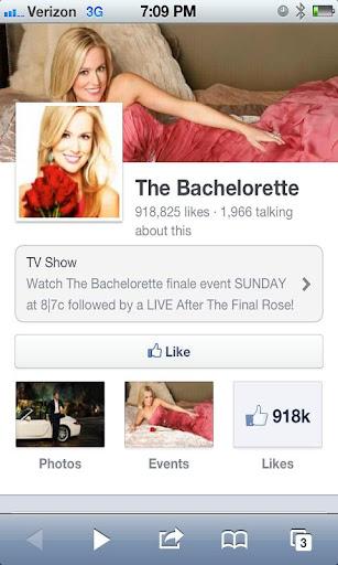 The Bachelorette Fan App