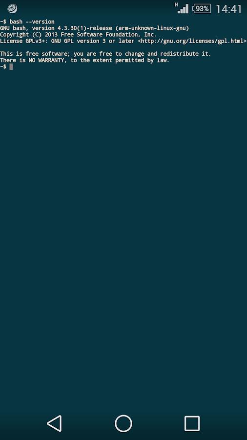 JuiceSSH - SSH Client– Capture d'écran
