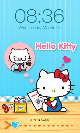 Hello Kitty for Dad ScreenLock