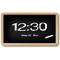 Flyer Clock Skin Blackboard icon