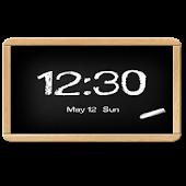 Flyer Clock Skin Blackboard
