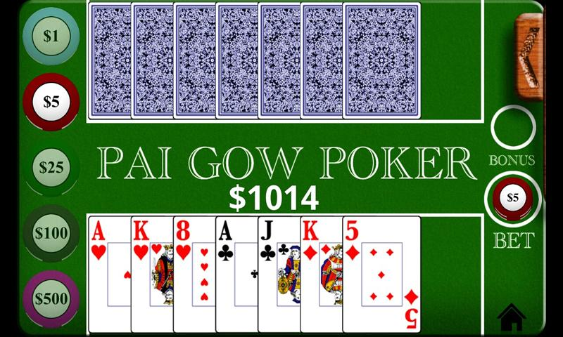 how to play pai gow hands
