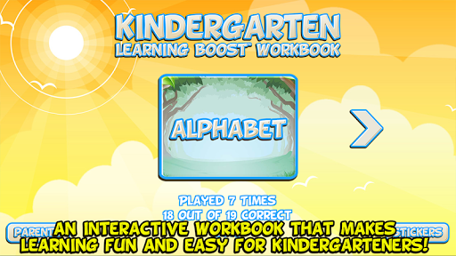 Kindergarten Workbook