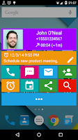 Screenshot of Call Actions