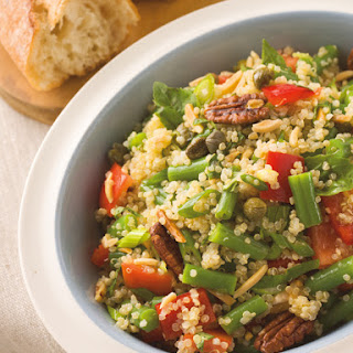 Quinoa, Green Bean & Tomato Salad