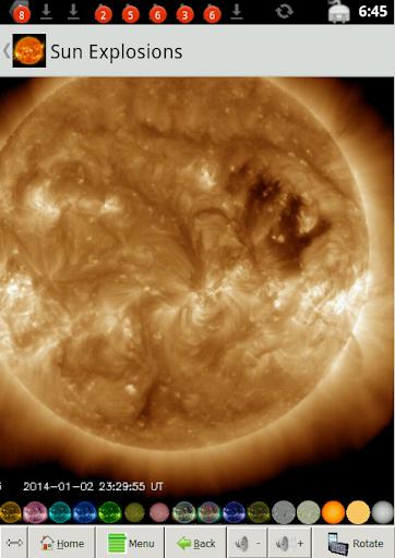 Sun Explosions