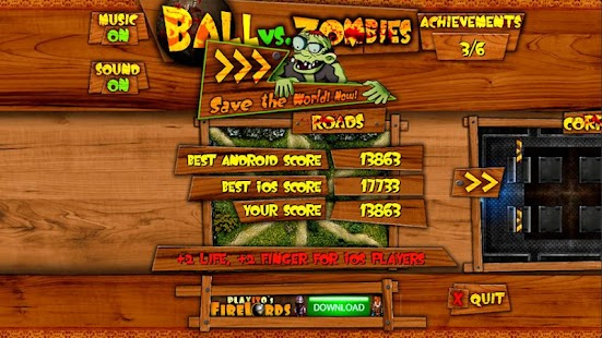 Ball vs. Zombies- screenshot thumbnail