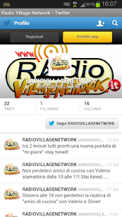 Radio Village Network - screenshot thumbnail