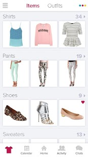 Stylitics - Virtual Closet App - screenshot thumbnail