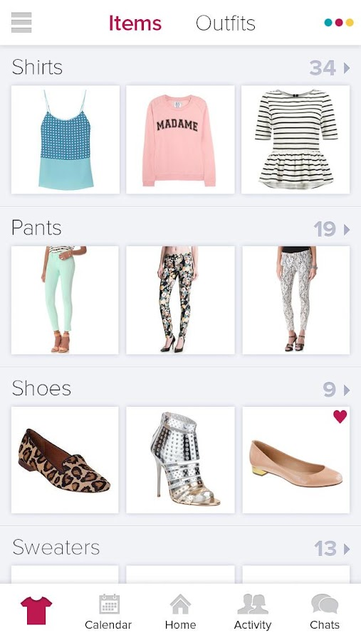 Stylitics - Virtual Closet App - screenshot