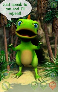 Talky Don The Dinosaur HD FREE- screenshot thumbnail
