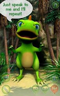 Talky Don The Dinosaur HD FREE - screenshot thumbnail