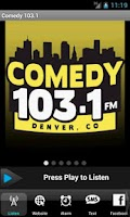 Screenshot of Comedy 1031 – 24/7 Comedy