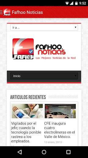 Noticias FafhooNoticias