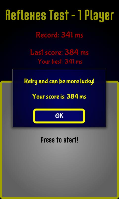 Reflex Speed Games PRO - screenshot