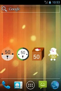 ForBear battery widget - 1