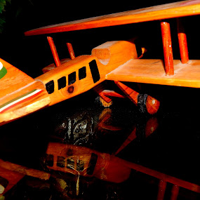FLY HIGH by Nitish Chandela - Artistic Objects Toys ( #toy #woodenplane #mychildhood #memory #loveit, toy, object )