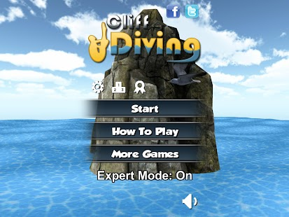 Cliff Diving 3D Free- screenshot thumbnail