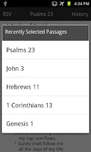 RSV Translation Bible Touch- screenshot thumbnail