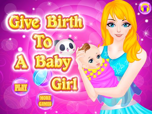 출생 여자 아기 게임