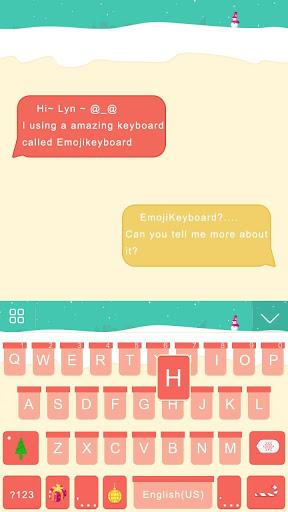 NewYear Theme for iKeyboard