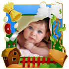 Funny Kids Photo Frames icon