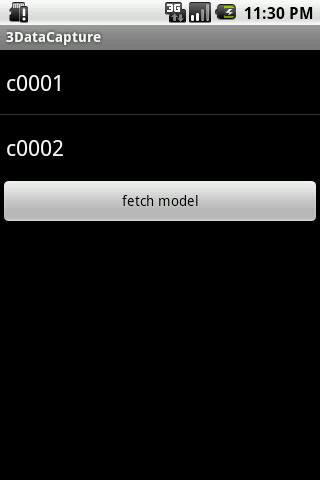 SMSMT Data Capture - screenshot