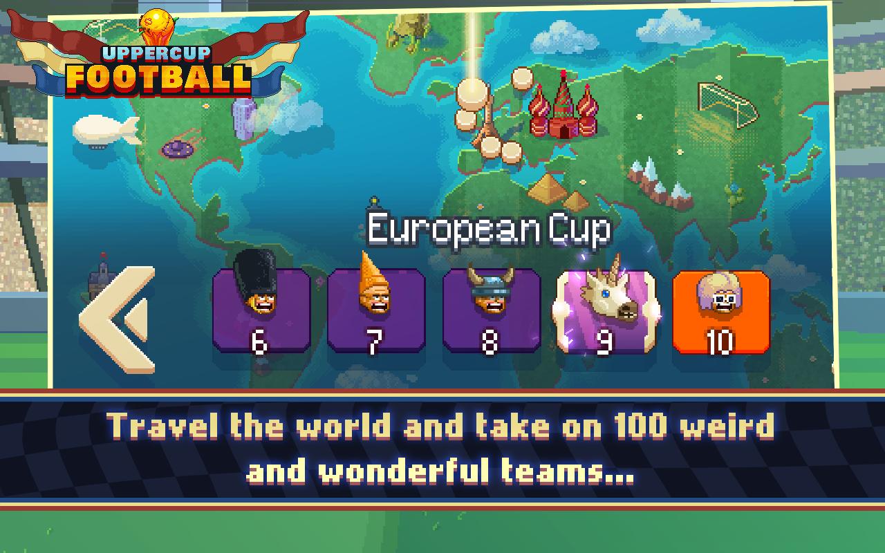 Uppercup Football (Soccer) screenshot #5