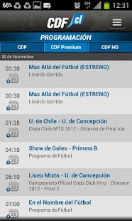 CDF Chile - screenshot thumbnail