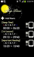 Screenshot of Sleep Time Lite