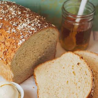 Homemade Honey Oat Bread.