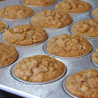 Quick and Easy Banana- Oat Muffins.