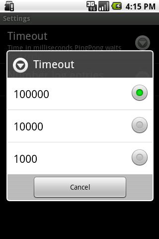 PingPong- screenshot