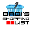 Babi's Shopping List logo