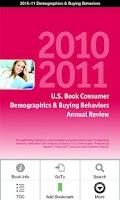 Screenshot of 2010–11 Consumer Demographics